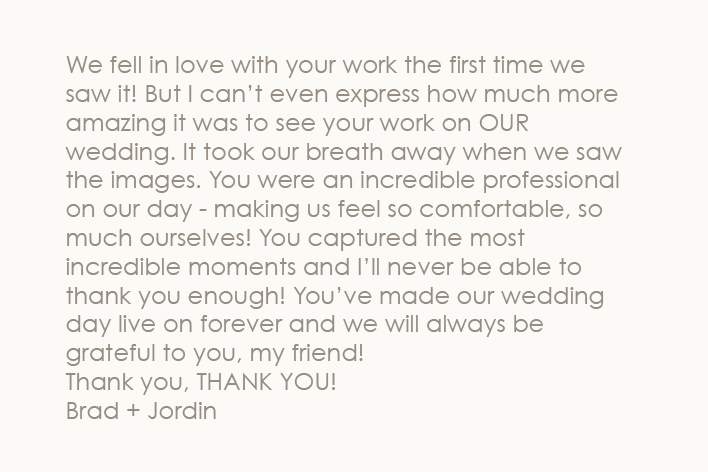 – Brad Jordin
