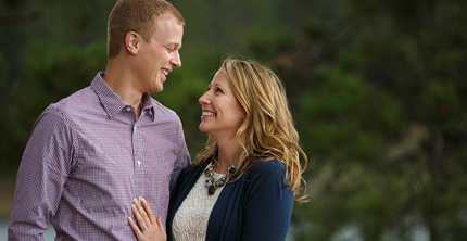 shawn + christie ENGAGED!! Black Hills engagement photography
