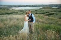shawn + christie MARRIED!! South Dakota wedding photography