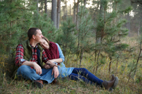 niel + kayla ENGAGED!! custer state park engagement photography
