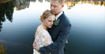 kyle + katie MARRIED!! Sylvan Lake Custer State Park wedding photography