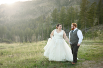 travis + cherie MARRIED!! Sylvan Lake Wedding
