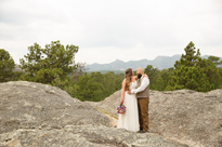 chris + kelsey MARRIED!! Black Hills elopement photographer