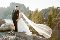 david + marcy MARRIED!! Sylvan Lake Wedding