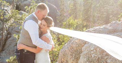 lex + heidi MARRIED!! Custer State Park wedding photographer