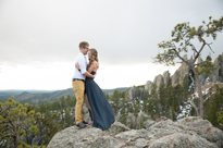 cody + justine ADVENTURE!! Custer State Park anniversary photos
